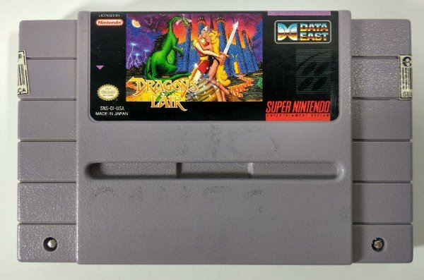 Dragons Lair Original - SNES