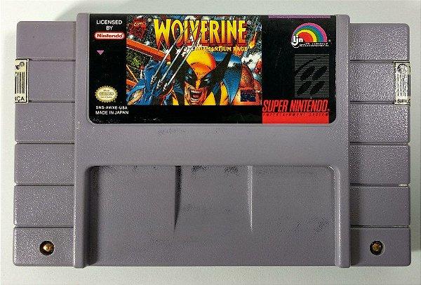 Wolverine Adamantium Rage Original - SNES