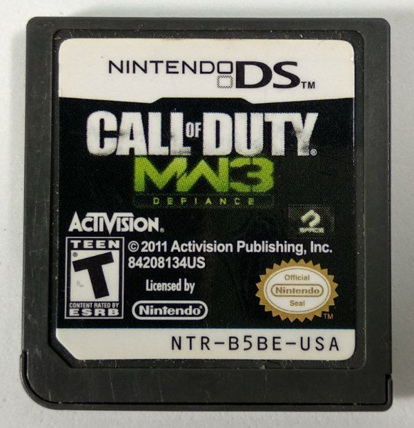 Call of Duty MW3 Defiance Original - DS
