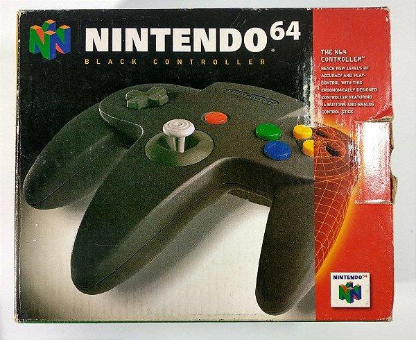 Controle Original Preto - N64