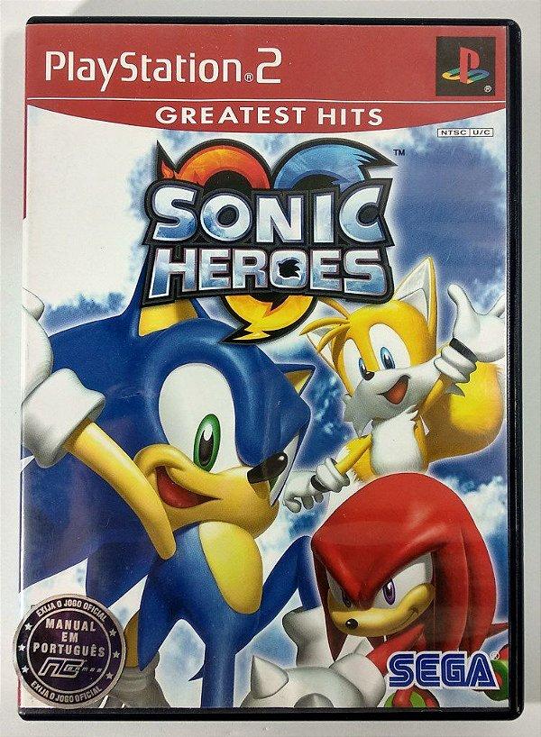 Sonic Heroes Original - PS2