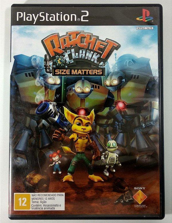 Ratchet & Clank Size Matters Original - PS2