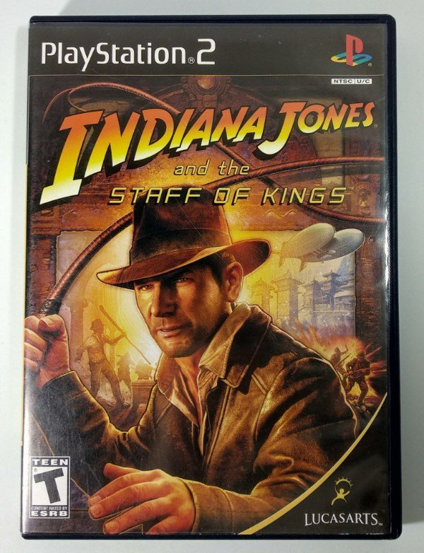 Indiana Jones Staff of Kings Original - PS2