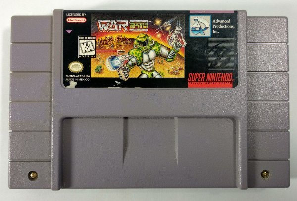 War 2410 Original - SNES