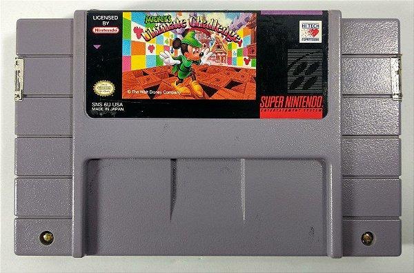 Mickey's Ultimate Challenge Original - SNES