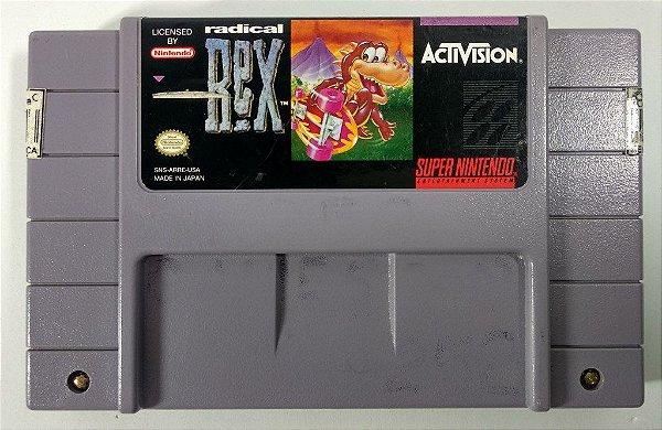 Radical Rex Original - SNES