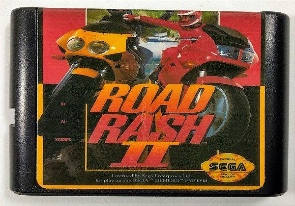 Jogo Road Rash 2 - Mega Drive