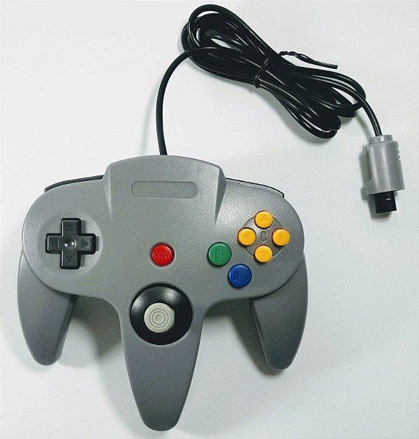 Controle Cinza - N64