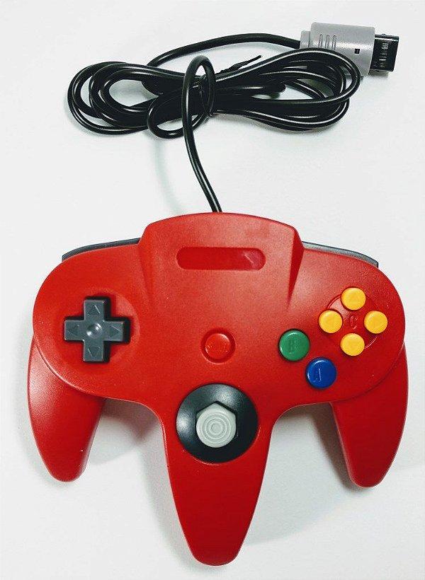 Controle Vermelho - N64