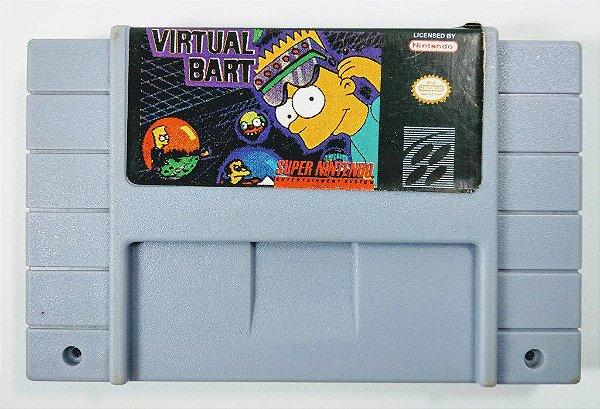 Virtual Bart - SNES