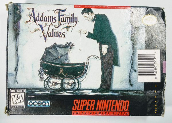 Addamy Family Values Original - SNES
