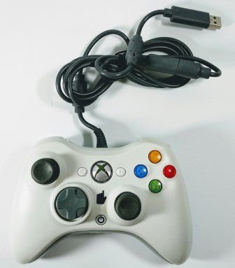Controle com fio - Xbox 360