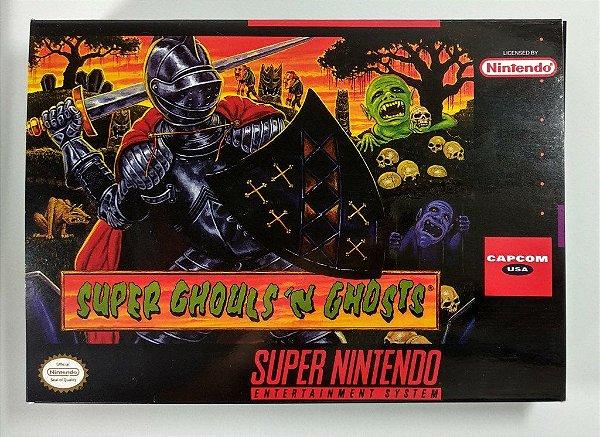 Jogo Super Ghoulsn Ghosts - SNES