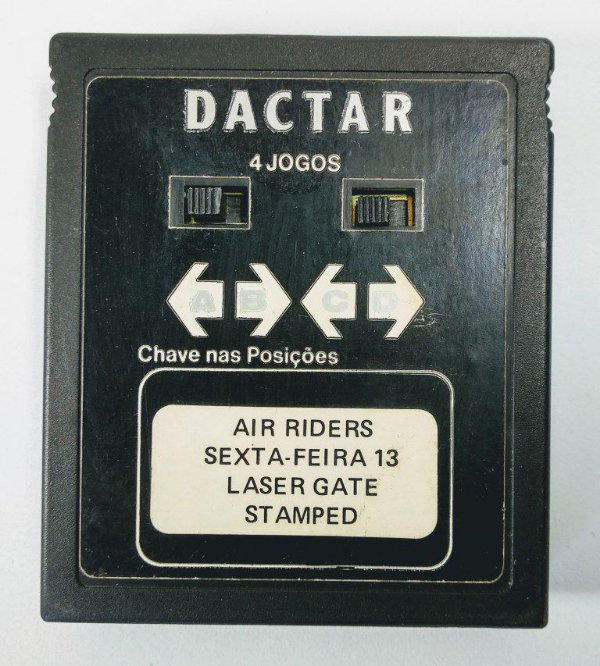 4 in 1 (Air Riders - Sexta 13 - Laser Gate - Stamped) - Atari