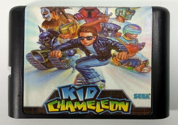 Kid Chameleon - Mega Drive