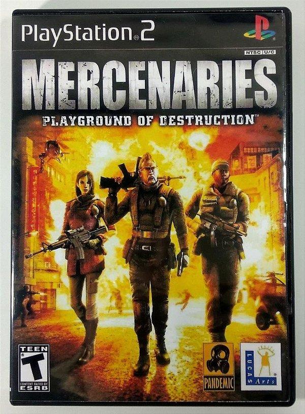 Mercenaries [REPLICA] - PS2