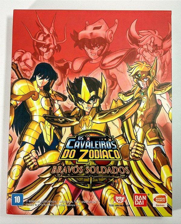 Jogo Os Cavaleiros do Zodiaco Bravos Soldados - PS3