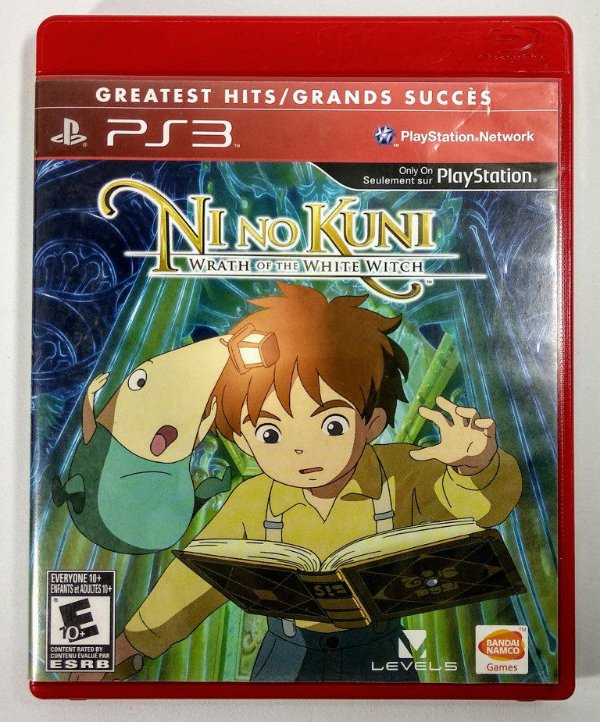Ni no Kuni Wrath of the White Witch - PS3