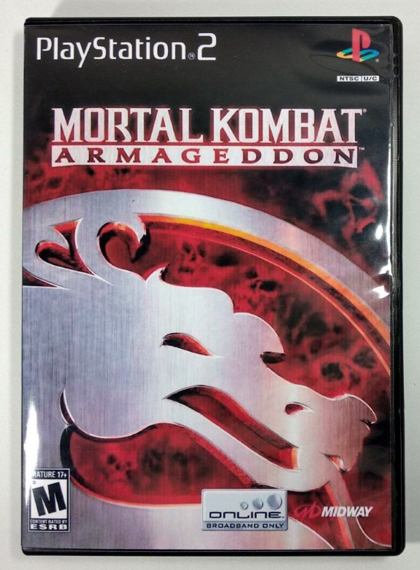Mortal Kombat Armagedon [REPLICA] - PS2