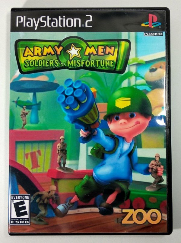 Army Men Soldiers of Misfortune [REPLICA] - PS2