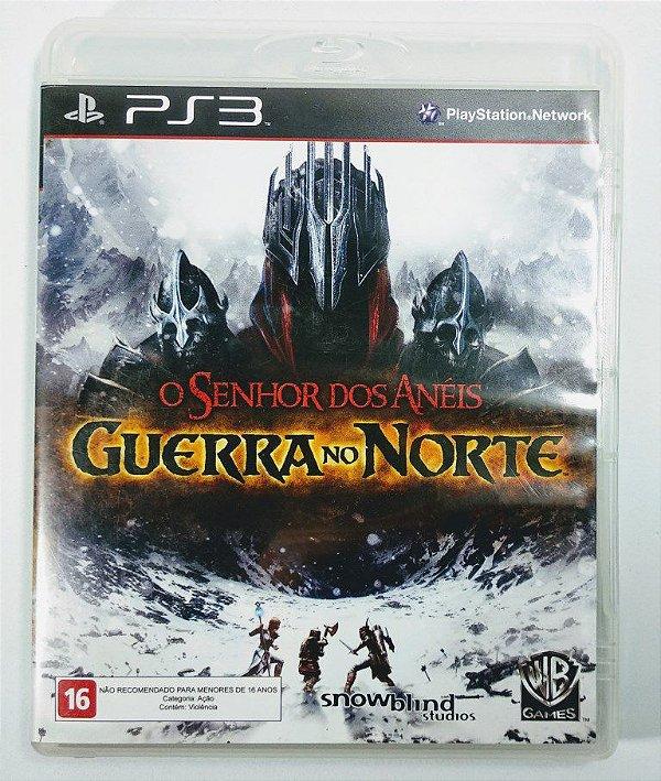 O Senhor dos Anéis Guerra no Norte - PS3