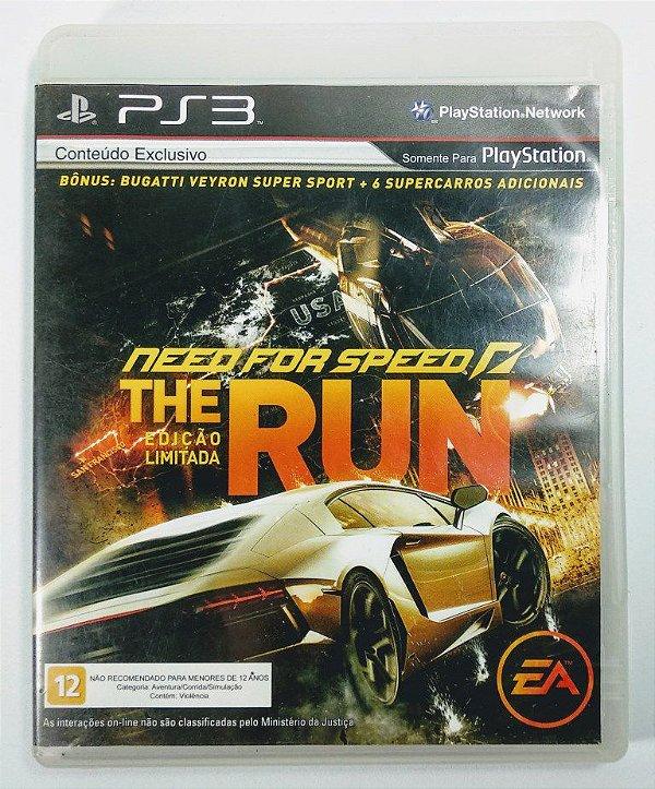 Need For Speed The Run ed. limitada - PS3