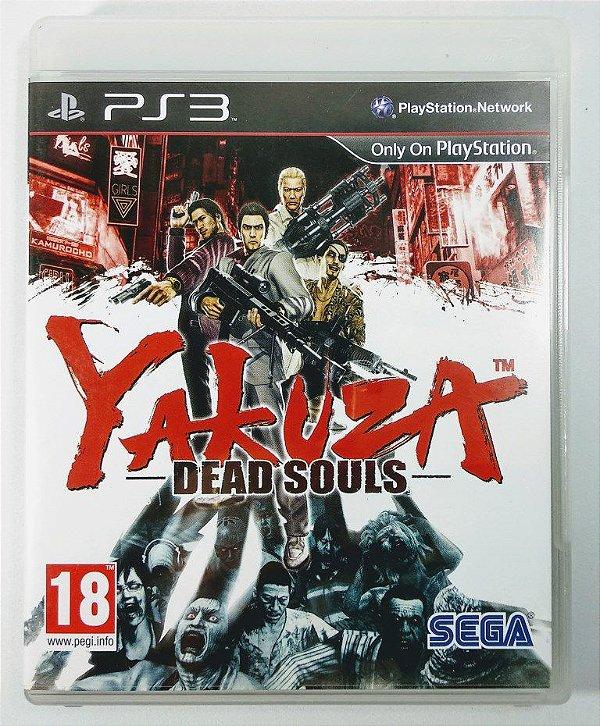 Yakuza Dead Souls - PS3