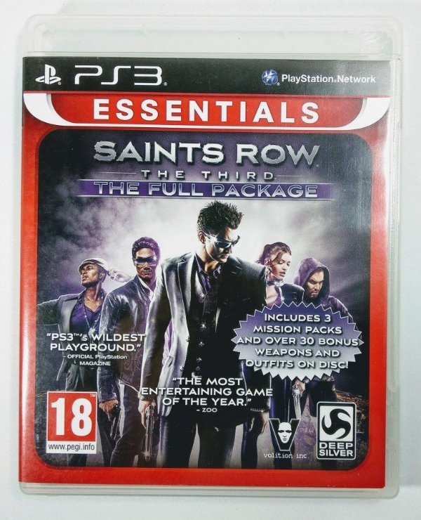 Saints Row the third the Full Package - PS3