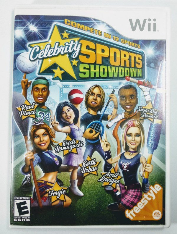 Celebrity Sports Showdown - Wii