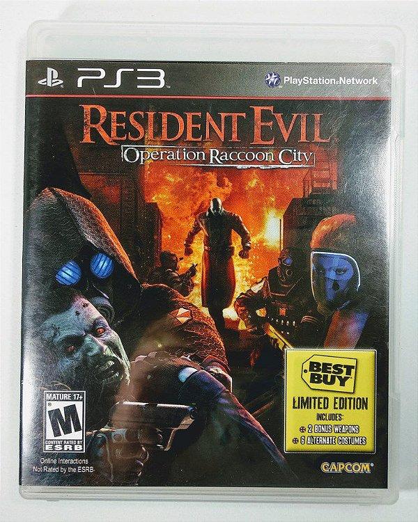 Jogo Resident Evil Operation Raccoon City - PS3