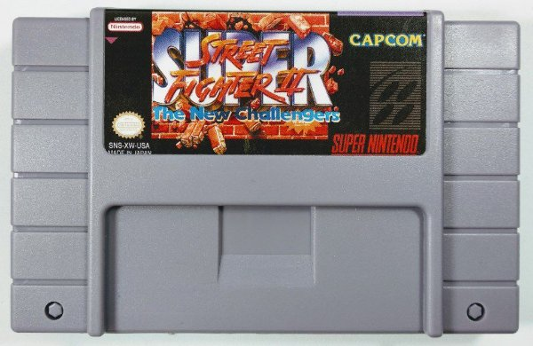 Jogo Super Street Fighter 2 - SNES