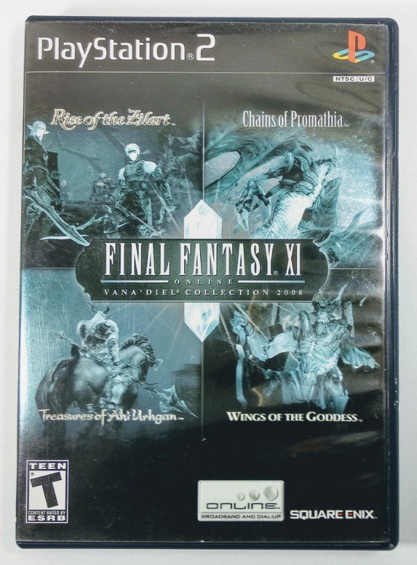 Final Fantasy XI Online Vana Diel Collection 2008 Original - PS2