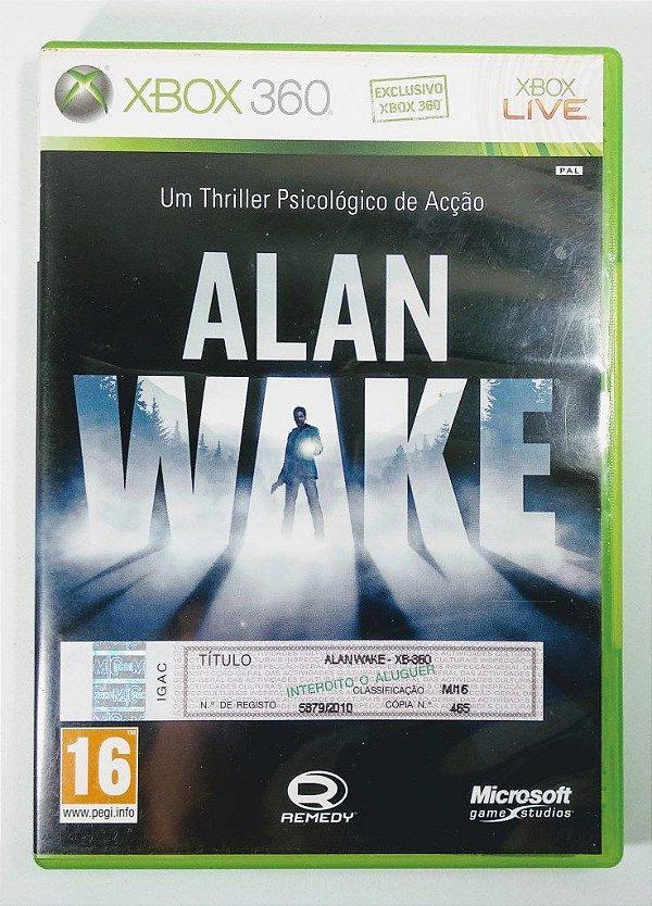 Alan Wake [EUROPEU] - Xbox 360