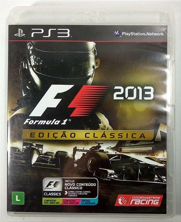 F1 2013 Edição Clássica - PS3