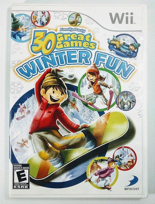 30 Great Games Winter Fun - Wii