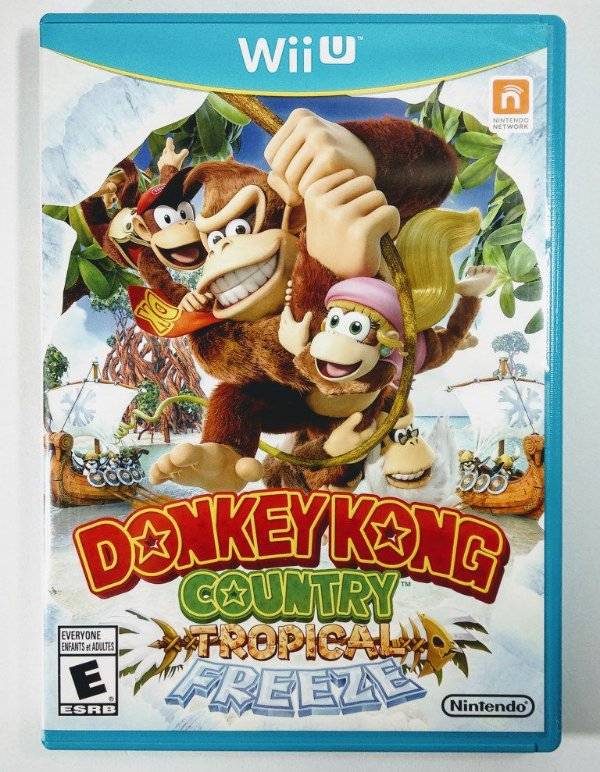 Donkey Kong Country Tropical Freeze Original - Wii U