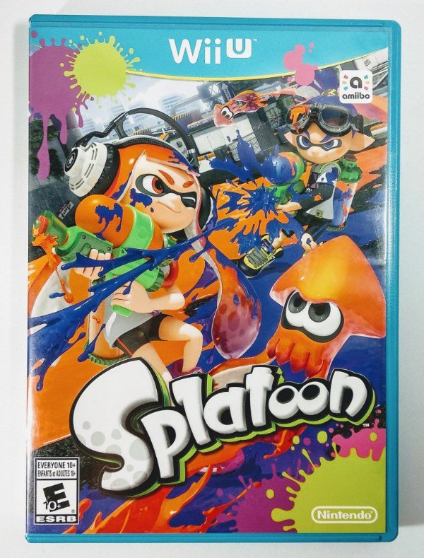 Splatoon Original - Wii U