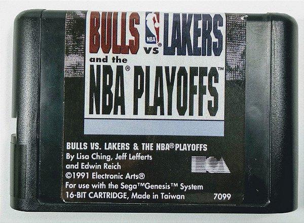 Bulls vs Lakers and the NBA Playoffs - Mega Drive