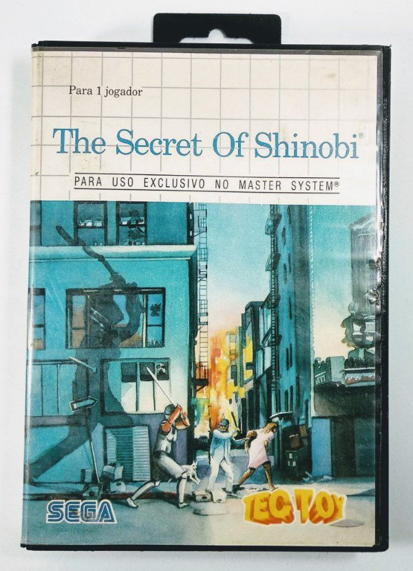 The Secret of Shinobi - Master System
