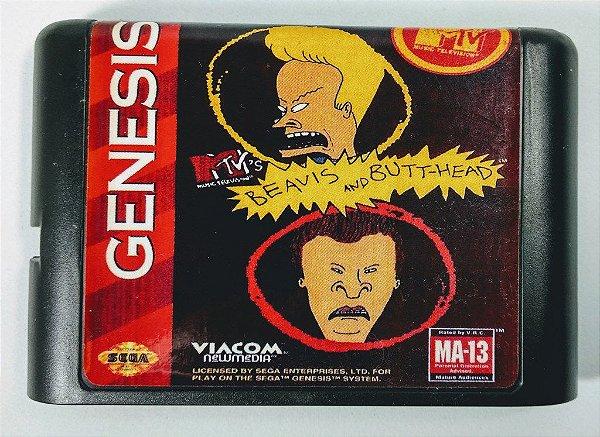 Jogo Beavis and Butt-head - Mega Drive