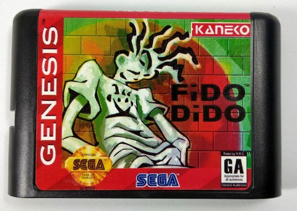 Jogo Fido Dido - Mega Drive