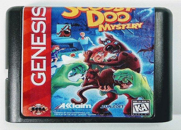 Jogo Scooby Doo Mystery - Mega Drive