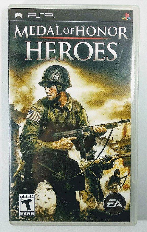 Jogo Medal of Honor Heroes Original - PSP