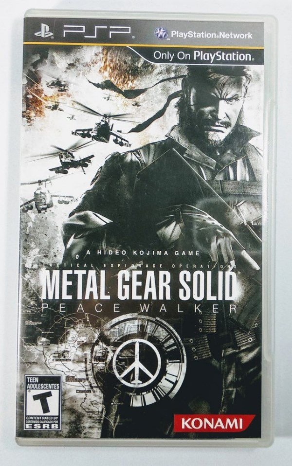 Jogo Metal Gear Solid Peace Walker Original - PSP