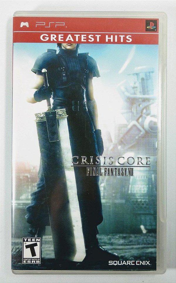 Jogo Crisis Core Final Fantasy VII Original - PSP