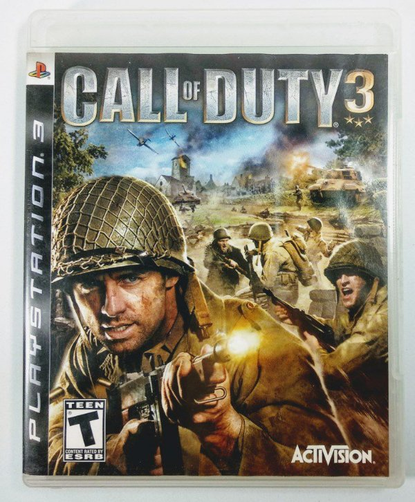 Jogo Call of Duty 3 - PS3