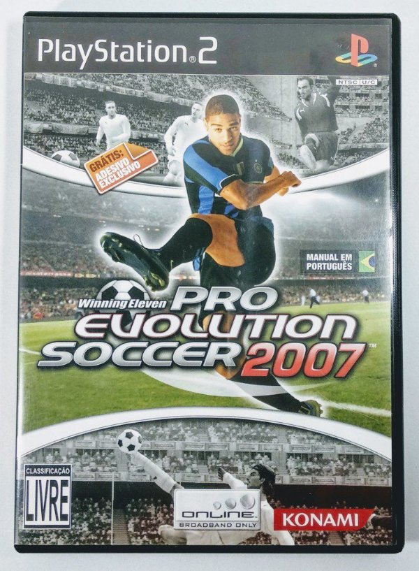 Winning Eleven Pro Evolution Soccer 2007 Original - PS2