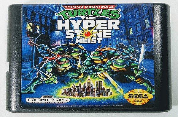 Turtles the hyperstone Heist - Mega Drive