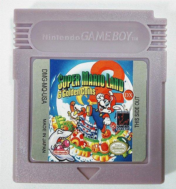 Jogo Super Mario Land 2 DX - GBC