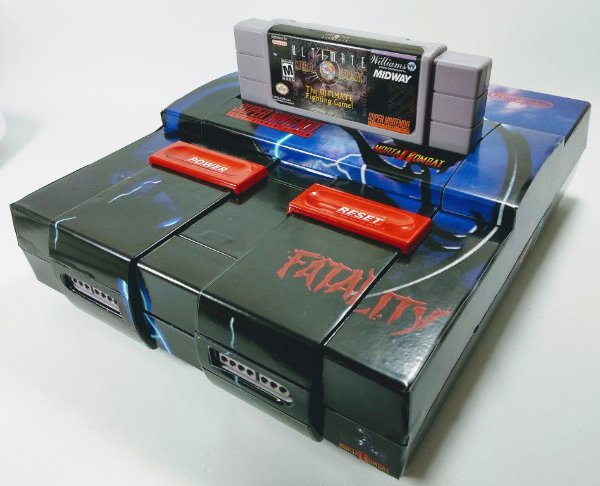 Console Super Nintendo Personalizado MK2 - SNES